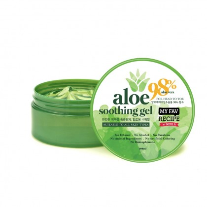 My Fav Recipe by NeuLa Aloe Soothing Gel 98% 300ml