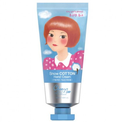 Choonee High Moisture Hand Cream 50g - Snow Cotton