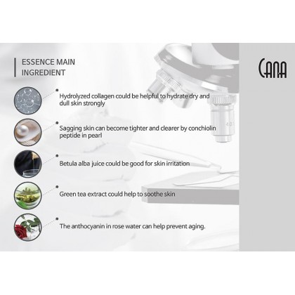 CANA Pearl Collagen Essence Mask 10s 30ml