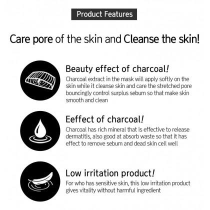 EyeNLip Charcoal Moisture Essence Mask