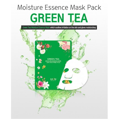 EyeNLip Green Tea Moisture Essence Mask